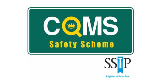 COMS logo with SSIP